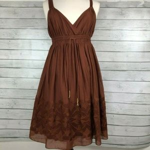 Banana Republic Fit and Flare Dress Sz 6